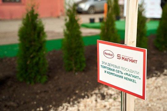 Henkel и «Магнит» озеленяют Краснодар