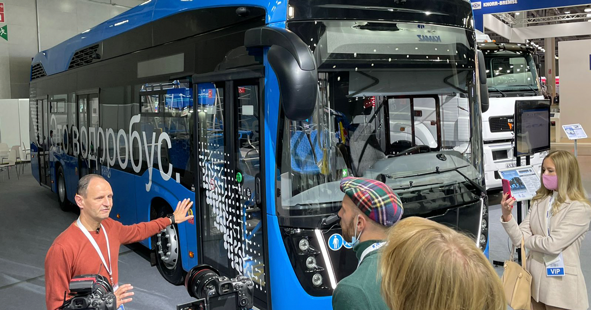 В Москве запустят автобус на водороде